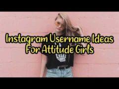 BestAttitude Username for Instagram for Girls