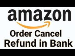 How long does it take for Amazon to refund a canceled order?