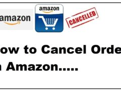 How to cancel an Amazon order