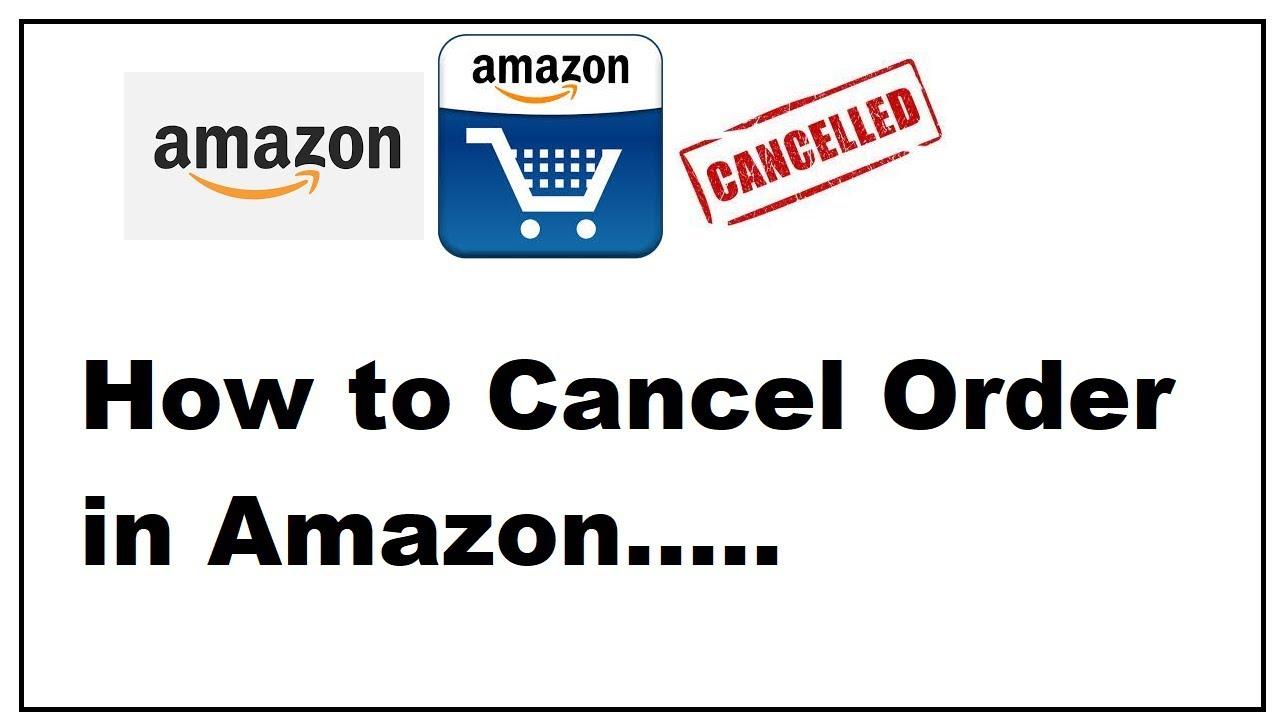 How to cancel amazon order-websplashers