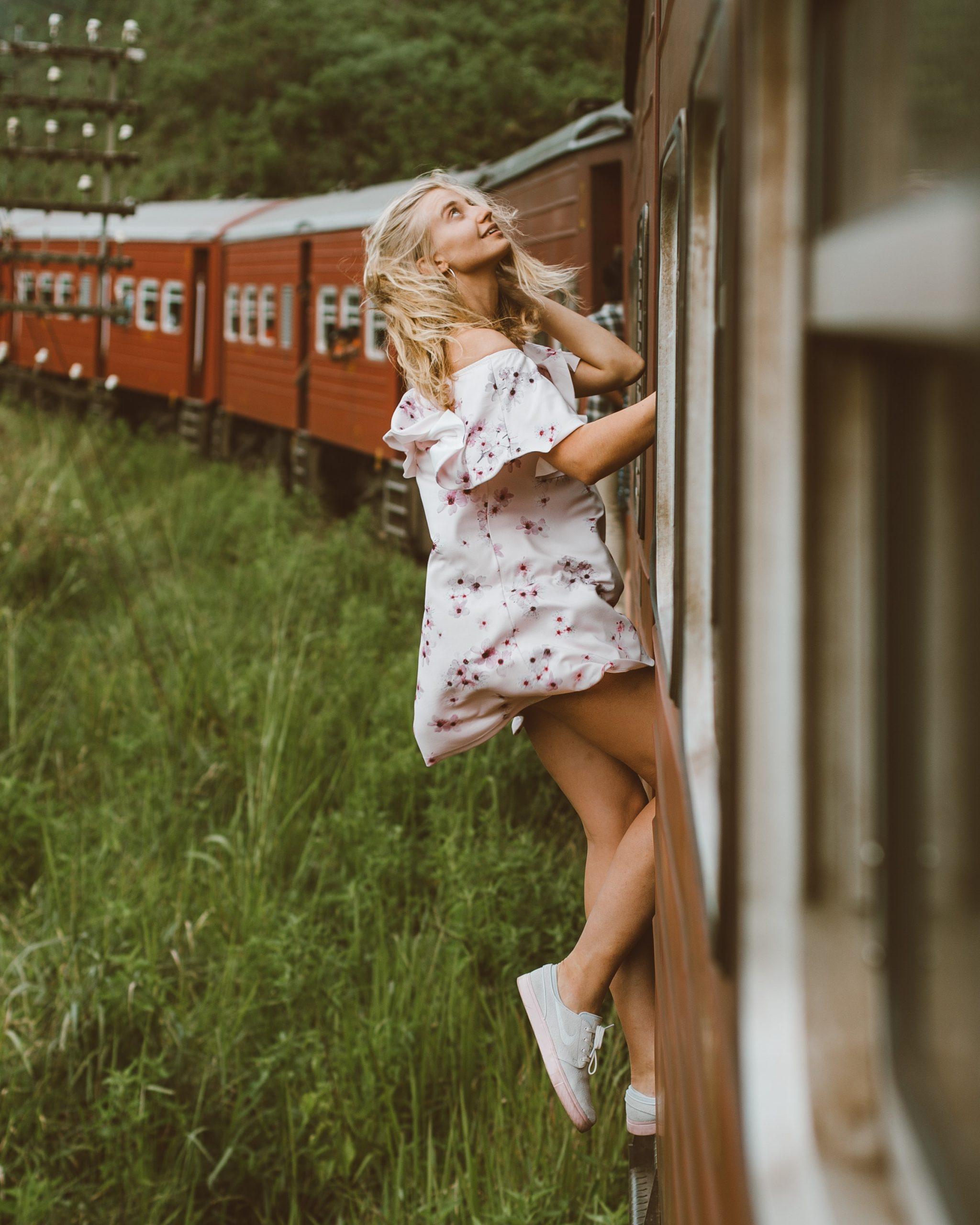 Train travel captions for Instagram-Websplashers
