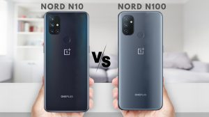 OnePlus Nord N10 5G Vs Nord N100: images