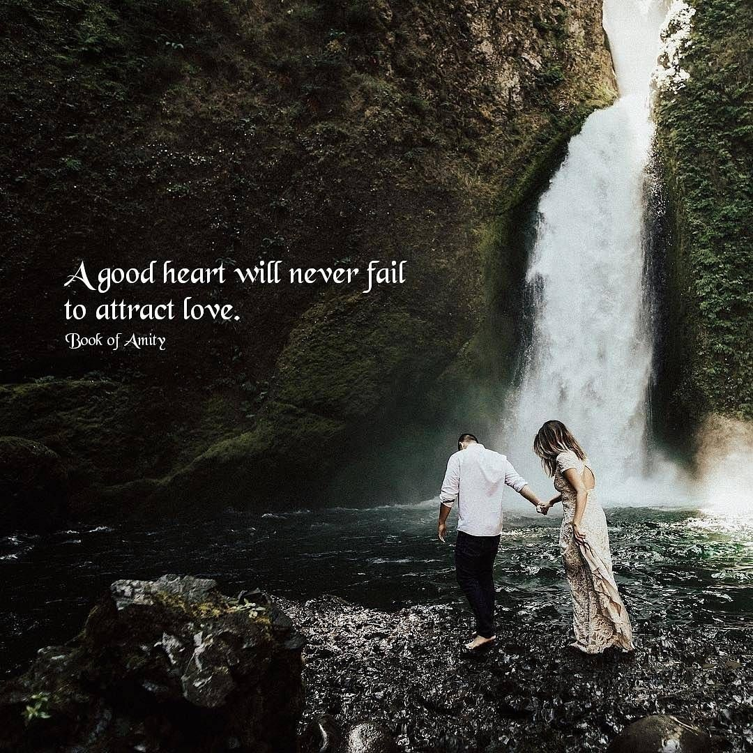 Waterfall Love Quotes
