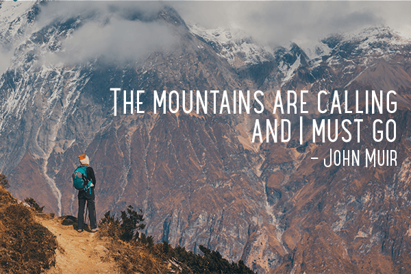 Mountain Vibes Quotes