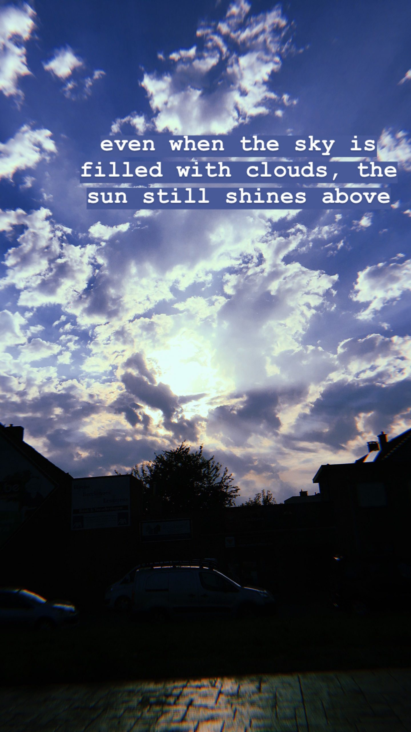 Sky & Cloud Captions