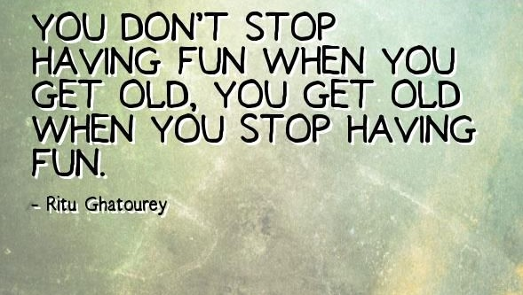 Powerful quotes about having fun