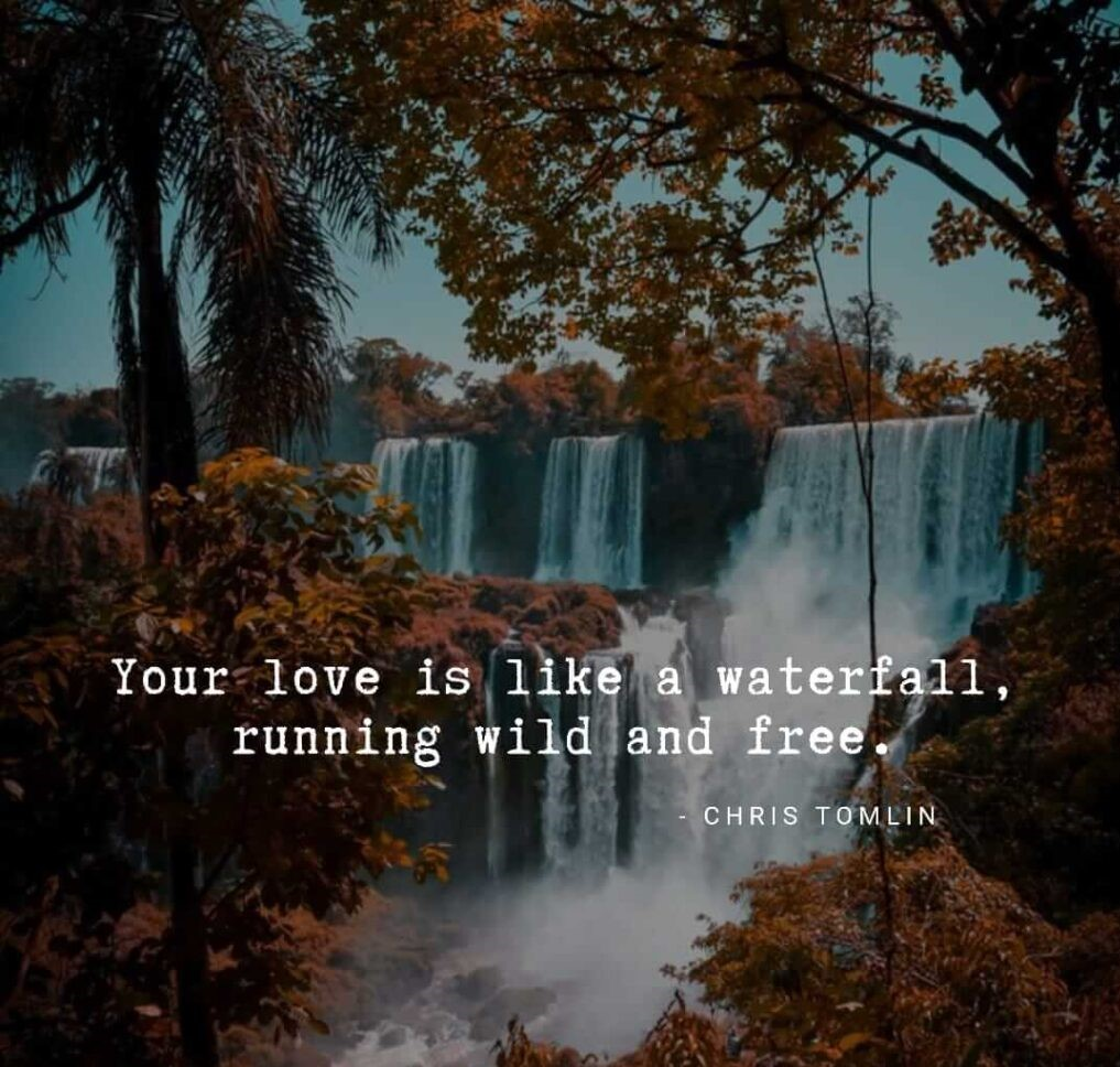 Powerful Waterfall Quotes Instagram