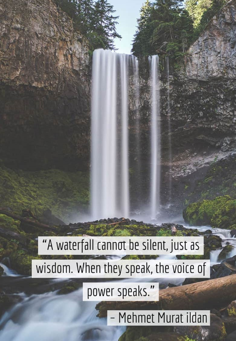 Nature Quotes about Falls