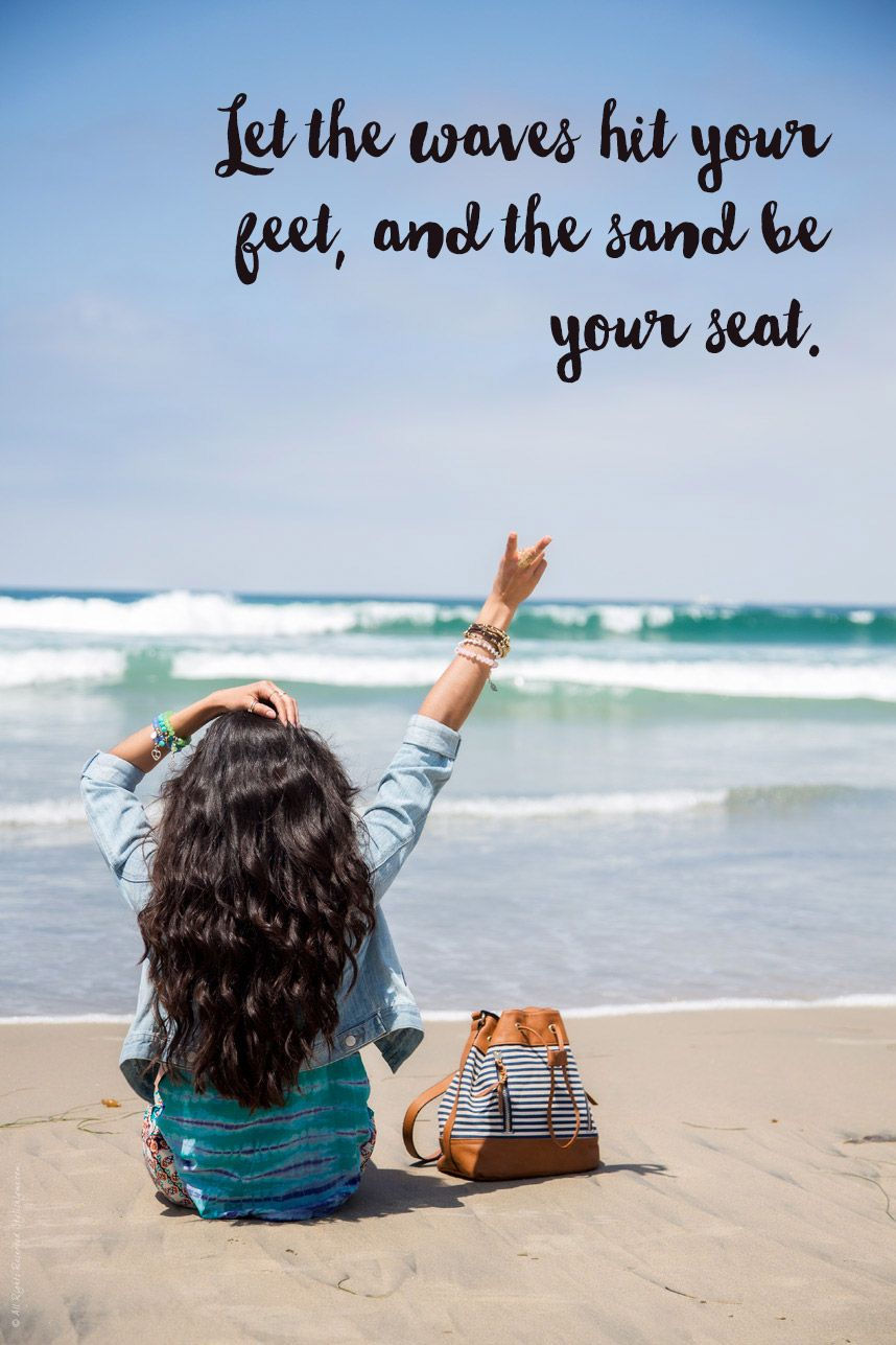 Short & Funny Beach Quotes on Love