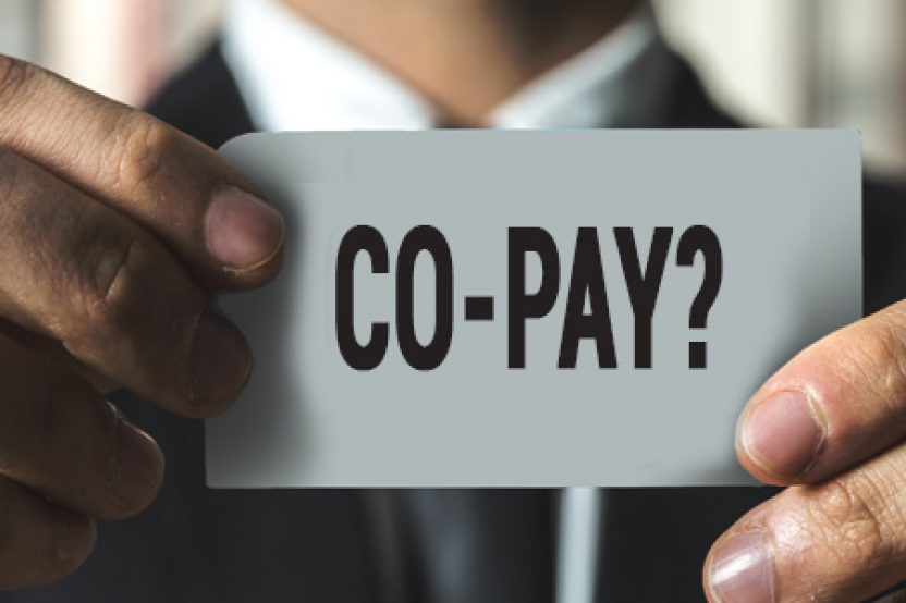 Co-pay clause image