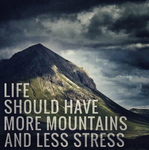 Life Quotes about Mountains