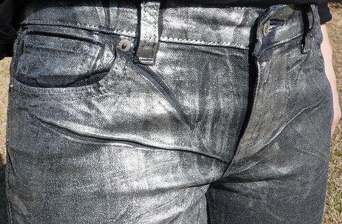 Metallic Spray Paint On Clothes
