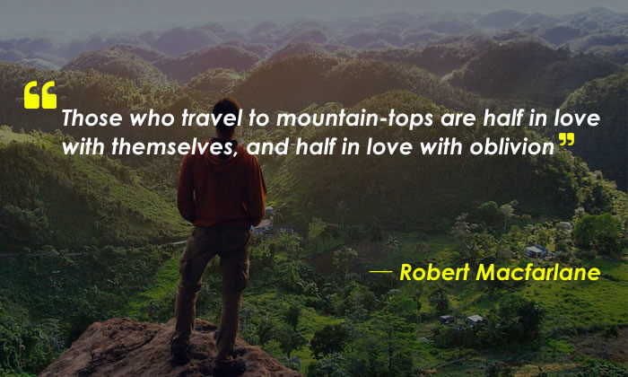 Quotes About Mountains and Love