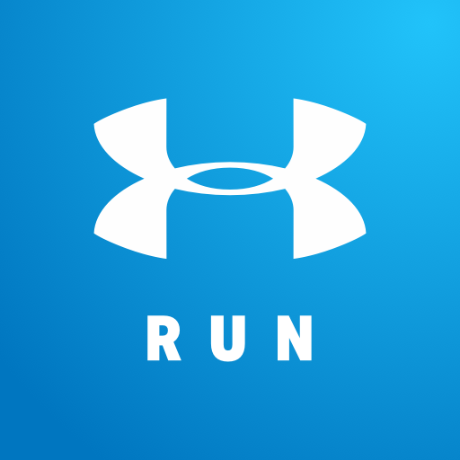 map my run by under armour logo image