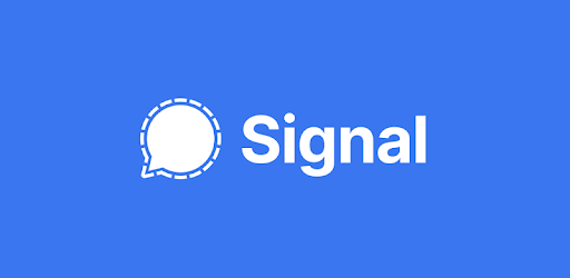 Signal Private Messenger app logo image