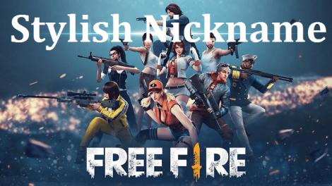 Free Fire Name 2021 Best Stylish Free Fire Nickname