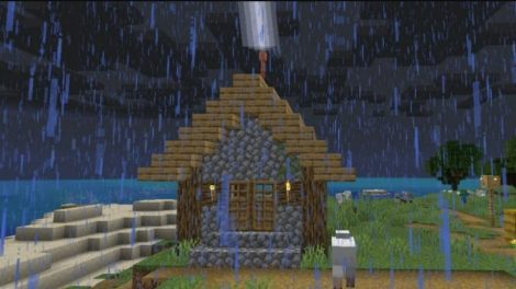 How to utilize the lightning rod in Minecraft